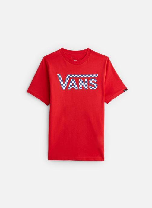 Vêtements Vans By Vans Classic Logo Fill Boys Rouge vue détail/paire