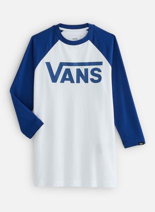 Vêtements Vans By Vans Classic Raglan Boys Blanc vue détail/paire