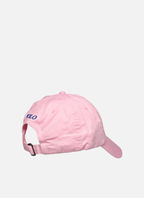 Pet Polo Ralph Lauren Casquette Pony Roze model