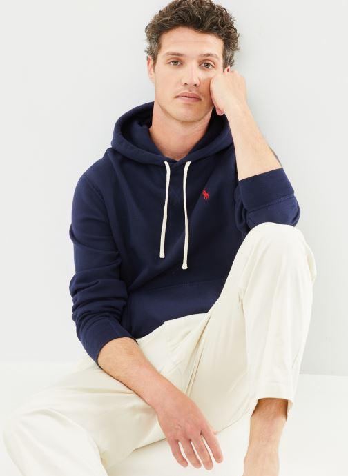 Vêtements Polo Ralph Lauren Sweatshirt Hoodie ML Classique Pony Bleu vue détail/paire