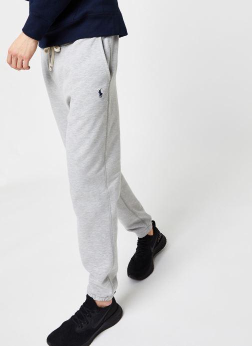 Vêtements Polo Ralph Lauren Jogging Pony Gris vue détail/paire