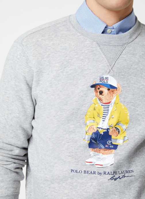 Kleding Polo Ralph Lauren Sweatshirt ML Ourson Grijs voorkant
