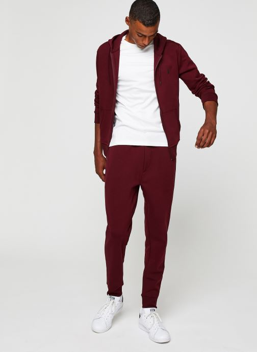 Vêtements Polo Ralph Lauren T-Shirt Pima Polo Custom Slim Pony Blanc vue bas / vue portée sac