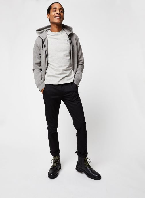 Grande Vente Polo Ralph Lauren Sweatshirt Hoodie Pony Gris Vêtements 430359 fsdjll12sod251DD Vêtements Homme