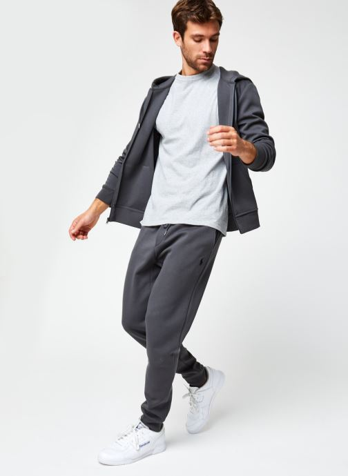 Vêtements Polo Ralph Lauren Sweatshirt Hoodie Pony Gris vue bas / vue portée sac