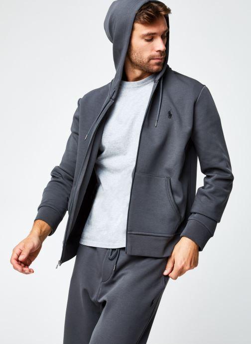 Vêtements Polo Ralph Lauren Sweatshirt Hoodie Pony Gris vue détail/paire