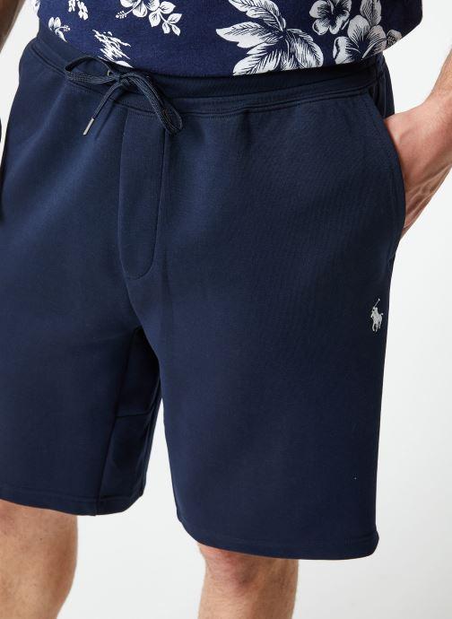 Vêtements Polo Ralph Lauren Short Confort Pony Bleu vue face