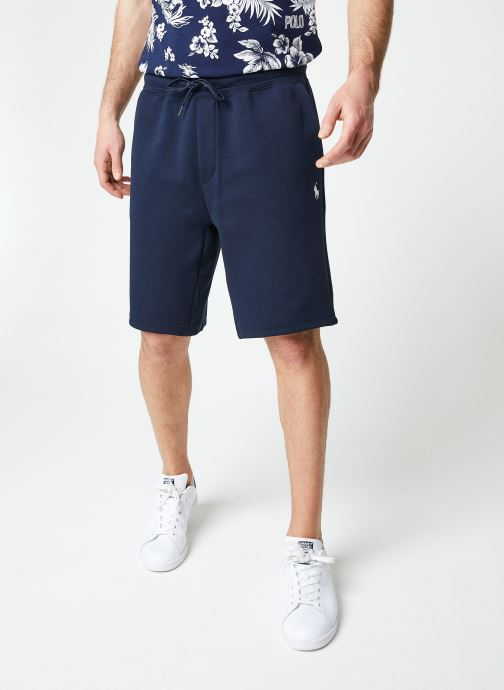 Vêtements Polo Ralph Lauren Short Confort Pony Bleu vue détail/paire