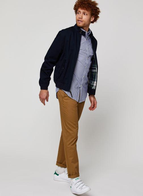 Vêtements Polo Ralph Lauren Veste Baracuda Bleu vue bas / vue portée sac
