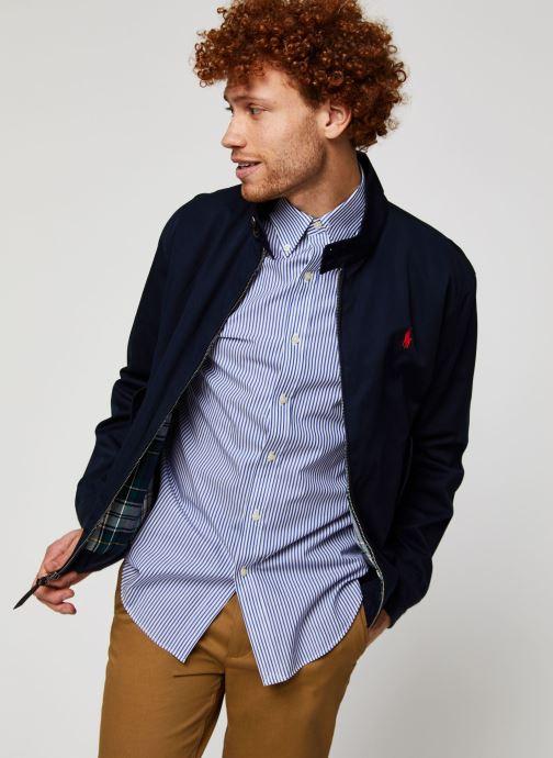 Vêtements Polo Ralph Lauren Veste Baracuda Bleu vue détail/paire