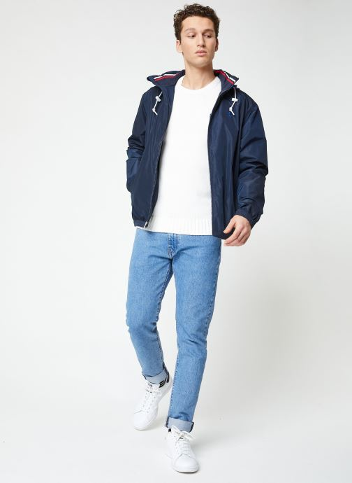 Vêtements Polo Ralph Lauren Veste Amherst Bleu vue bas / vue portée sac