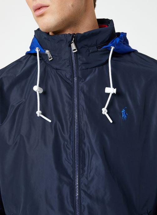 Vêtements Polo Ralph Lauren Veste Amherst Bleu vue face
