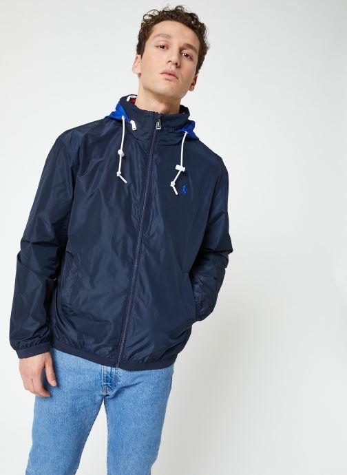 Vêtements Polo Ralph Lauren Veste Amherst Bleu vue droite