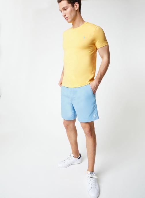 Vêtements Polo Ralph Lauren Short Cotton Stretch Classic Pony Bleu vue bas / vue portée sac
