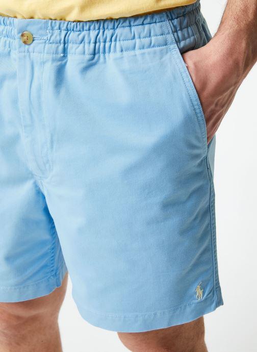 Vêtements Polo Ralph Lauren Short Cotton Stretch Classic Pony Bleu vue face