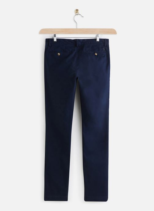 Polo Ralph Lauren Pantalon chino - Chino Cotton Stretch Slim Pony (Bleu) - Vêtements (430379)