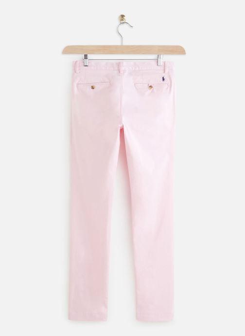 Vêtements Polo Ralph Lauren Chino Cotton Stretch Slim Pony Rose vue bas / vue portée sac