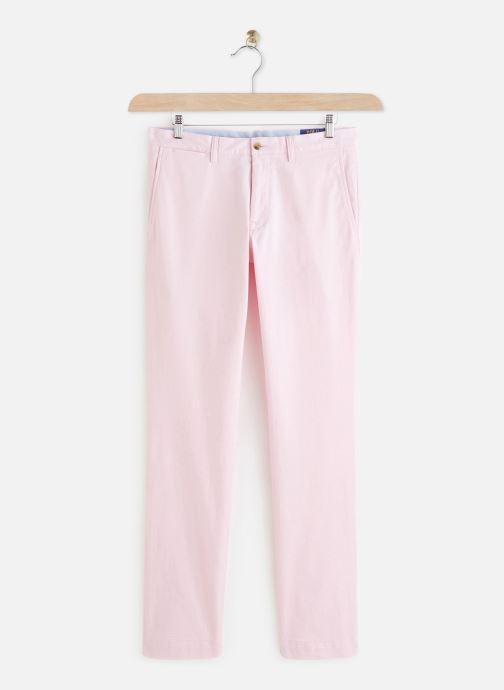 Vêtements Polo Ralph Lauren Chino Cotton Stretch Slim Pony Rose vue détail/paire