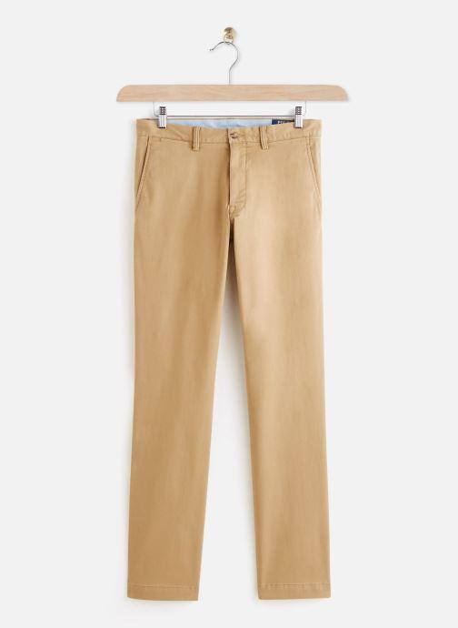 Vêtements Polo Ralph Lauren Chino Cotton Stretch Slim Pony Beige vue détail/paire