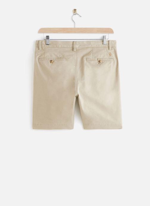 Polo Ralph Lauren Short Cotton Stretch Slim Pony (Beige) - Vêtements (430383)