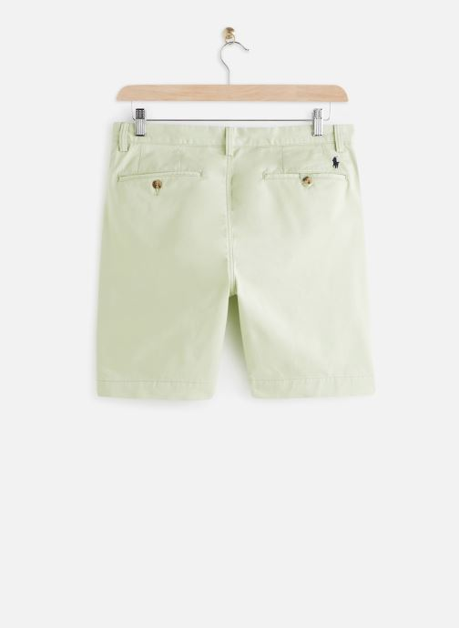 Vêtements Polo Ralph Lauren Short Cotton Stretch Slim Pony Vert vue bas / vue portée sac