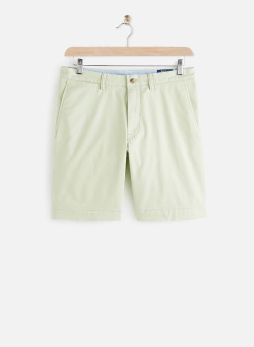 Vêtements Polo Ralph Lauren Short Cotton Stretch Slim Pony Vert vue détail/paire