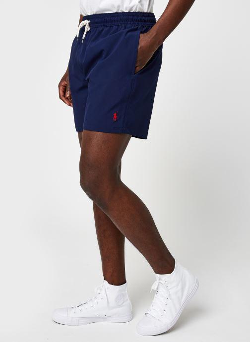 Vêtements Polo Ralph Lauren Maillot Pony Bleu vue détail/paire