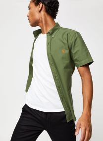 Chemise MC Oxford Slim Pony