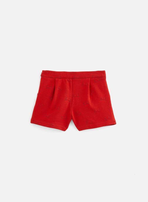 Vêtements Lili Gaufrette Short coquelicot en molleton Rouge vue bas / vue portée sac