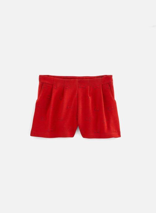 Vêtements Lili Gaufrette Short coquelicot en molleton Rouge vue détail/paire