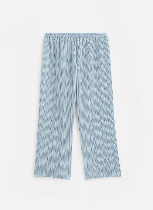 Kleding Lili Gaufrette Pantalon plissé Blauw onder