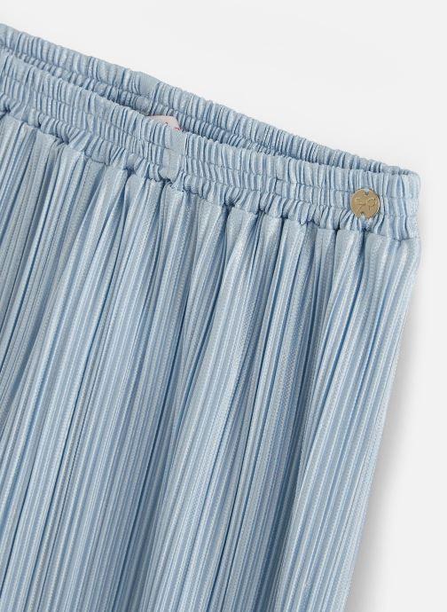 Kleding Lili Gaufrette Pantalon plissé Blauw model