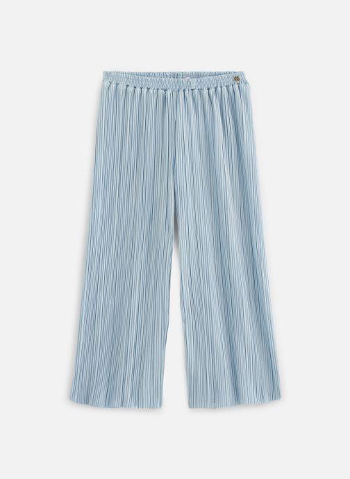 Kleding Lili Gaufrette Pantalon plissé Blauw detail