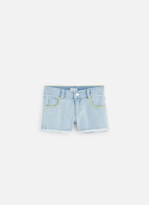 Vêtements Absorba Short denim bleach Bleu vue détail/paire