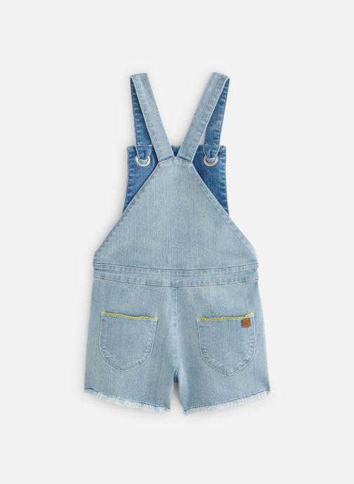 Vêtements Absorba Salopette denim bleach Bleu vue bas / vue portée sac