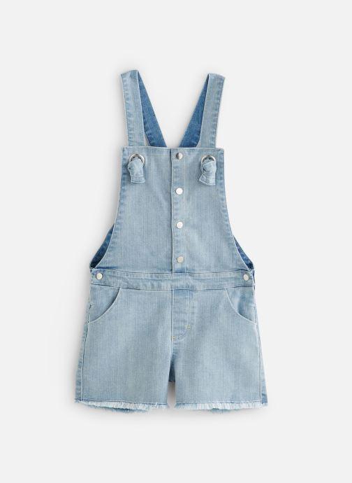 Vêtements Absorba Salopette denim bleach Bleu vue détail/paire