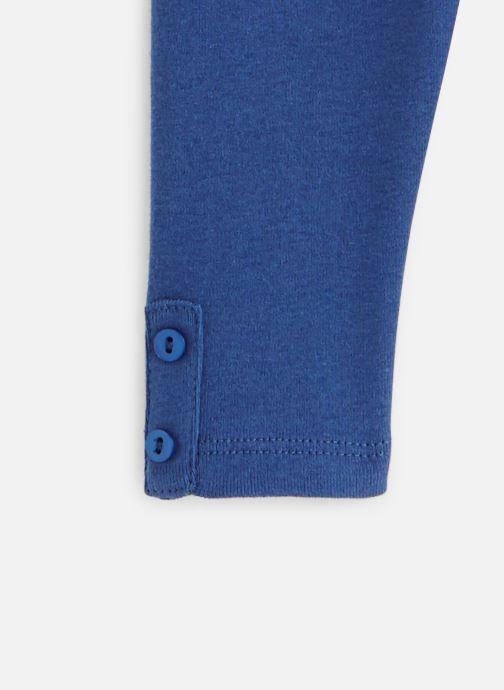 Vêtements Absorba Pantalon knitlook Bleu vue portées chaussures