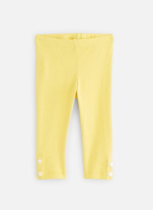 Vêtements Absorba Pantalon knitlook Jaune vue détail/paire
