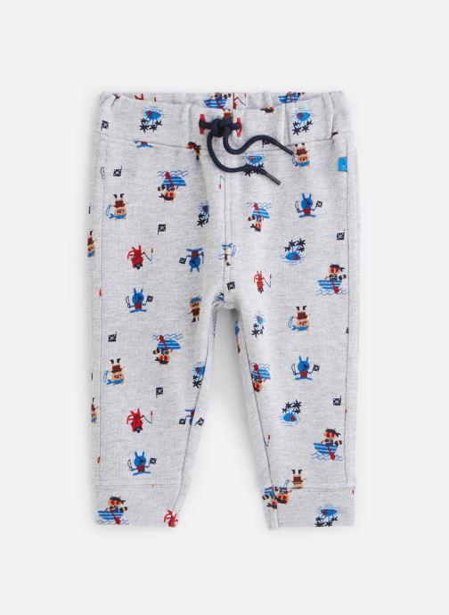 Vêtements Absorba Pantalon molleton Gris vue détail/paire