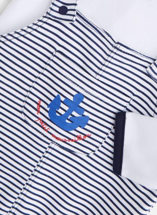 Vêtements Absorba Combilong effet salopette Bleu vue portées chaussures