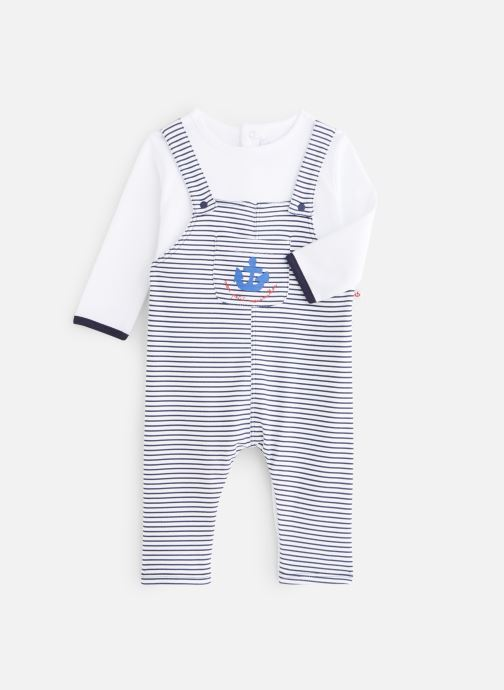 Vêtements Absorba Combilong effet salopette Bleu vue détail/paire