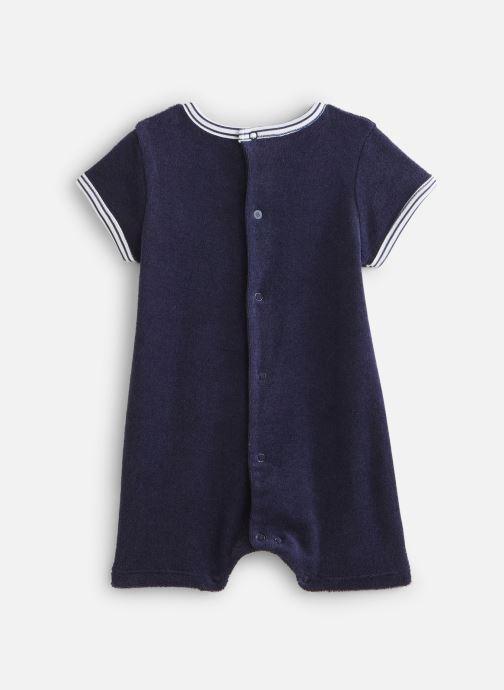 Vêtements Absorba Combicourt maille éponge Bleu vue bas / vue portée sac