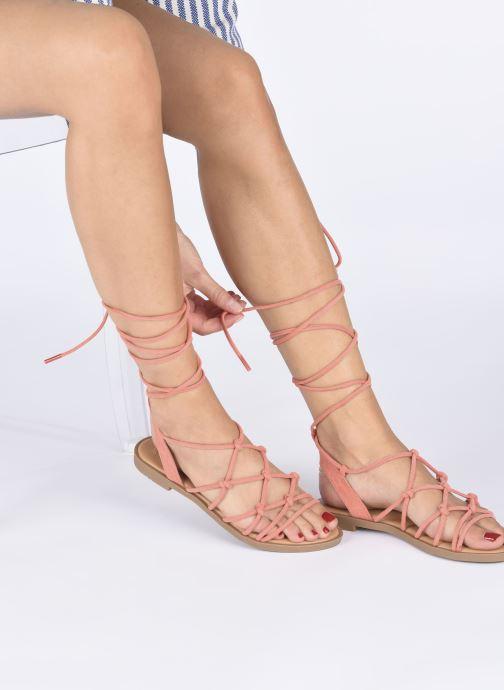 Sandali e scarpe aperte MTNG 58351 Arancione immagine dal basso