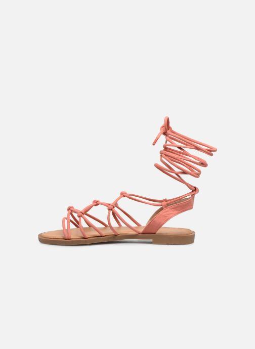 Sandali e scarpe aperte MTNG 58351 Arancione immagine frontale