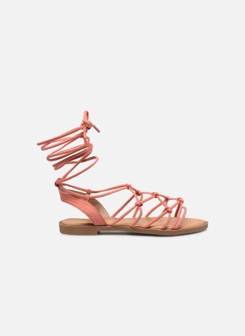 Sandali e scarpe aperte MTNG 58351 Arancione immagine posteriore