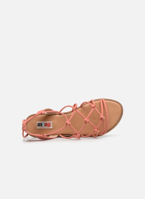 Sandali e scarpe aperte MTNG 58351 Arancione immagine sinistra