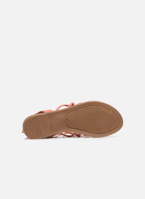 Sandali e scarpe aperte MTNG 58351 Arancione immagine dall'alto