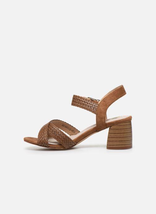 Sandali e scarpe aperte MTNG 58826 Marrone immagine frontale
