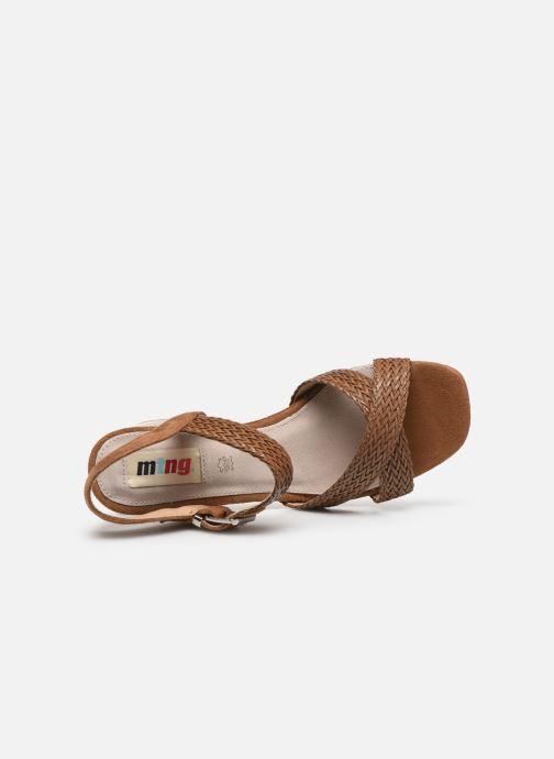Sandali e scarpe aperte MTNG 58826 Marrone immagine sinistra
