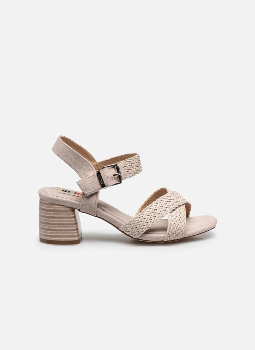 Sandales et nu-pieds MTNG 58826 Beige vue derrière